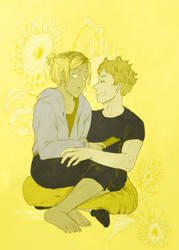 sunflower by affectionateTea