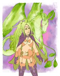 dragon princess by affectionateTea