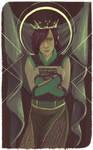 High Priestess by affectionateTea