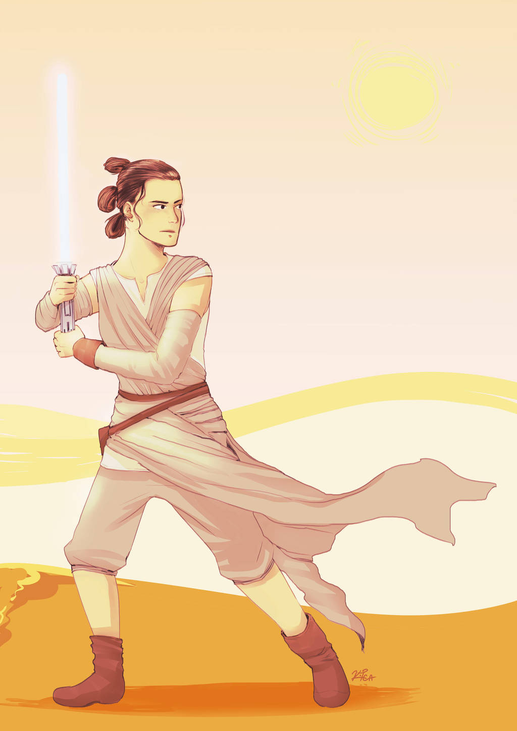 may the fourth be with you by affectionateTea