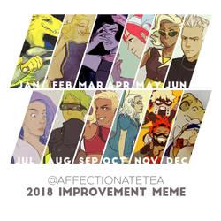 Improvement Meme - 2018 by affectionateTea
