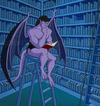 Goliath in the Library by Kordyne
