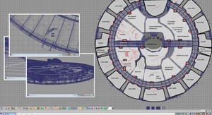 Civilian Scout - Liberty Class - Deck 2 Layout WIP by ashleytinger