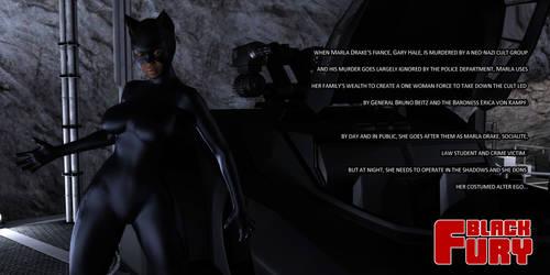 Black Fury poster by ashleytinger