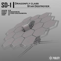 Dragonfly class Star Destroyer by Zaslon