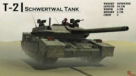 T-2 Schwertwal tank by Zaslon