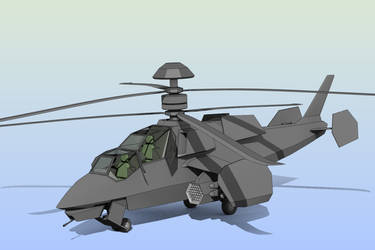 Original Attack Helicopter WIP by Zaslon