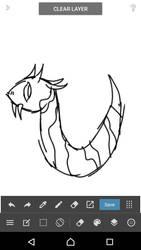idk honestly, some sort of creature  by Ki-Akushu-Bakudan