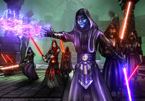 Sith Lords (SWTOR) by AraxussYexyr