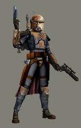 Bounty Hunter Outcast in TCW by AraxussYexyr