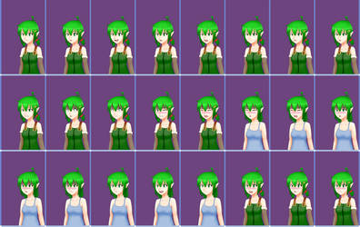 [O] SeFoMo - Michiro's Facesets Done by PHLiM2