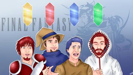 [FA] ProJared - Final Fantasy Fan Art by PHLiM2