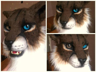 khajiit fursuit head by InerriCreatures
