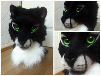 fursuit head by InerriCreatures