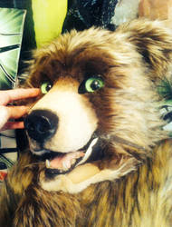 bear fursuit WIP by InerriCreatures
