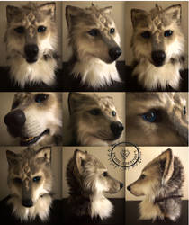 wolf mask for sale by InerriCreatures