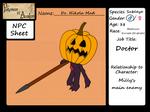 Dr. Nikola Mad - NPC App by MawCarby