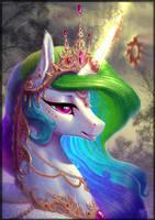 Princess Celestia by BegasusTiuBe