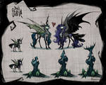 Chrysmoon with Don't Starve style by BegasusTiuBe