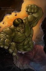 The Incredible Hulk by VinRoc