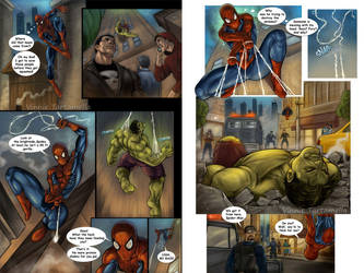 Green Noise page14 and 15 by VinRoc