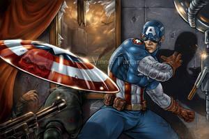 Captain America by VinRoc