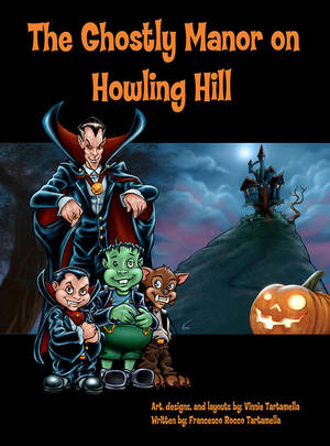 The Ghostly Manor on Howling Hill by VinRoc