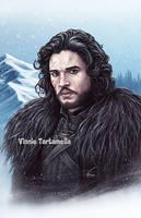 Jon Snow by VinRoc