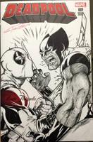 Deadpools revenge sketchcover by VinRoc
