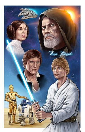 Star Wars by VinRoc