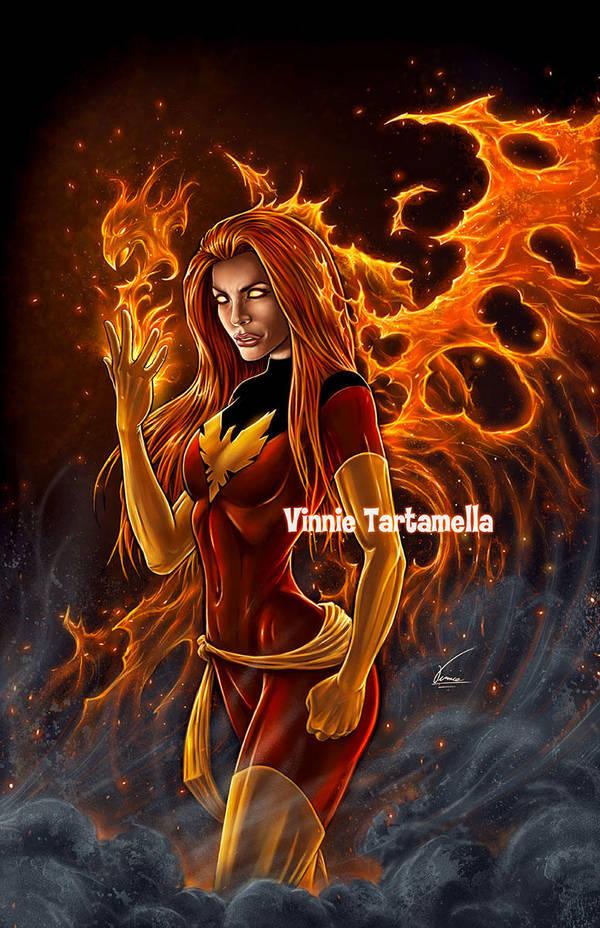 Phoenix Resurrection by VinRoc
