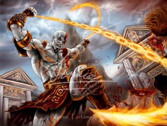 God of war 2 , the Return by VinRoc