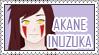 Akane Inuzuka Stamp by miulli