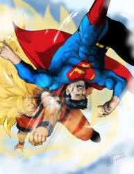 Superman Vs Kakaroto 2 by Albert217