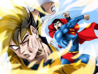 Superman Vs Kakaroto 4 by Albert217