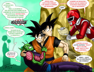 Dragon Ball DeeEvolution by Albert217