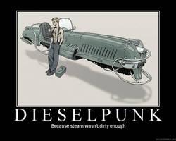 Dieselpunk by hayenmill