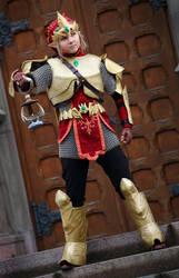 Magic armor Link by J-Kameko