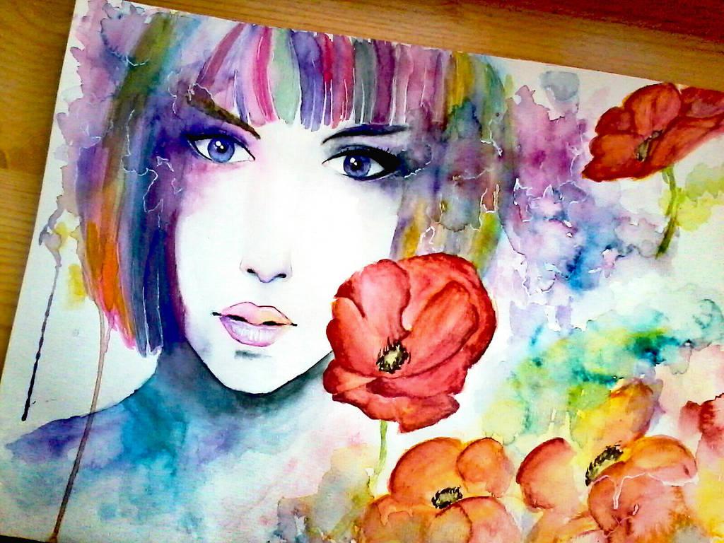 Colour of feelings by Lya-Ra