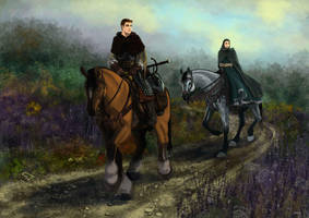 By the road by Marutanielle