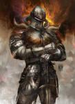 Knight of Fire by muratgul
