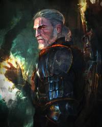 Geralt of Rivia by muratgul