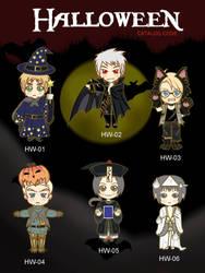 Halloween heta keychain by hippori