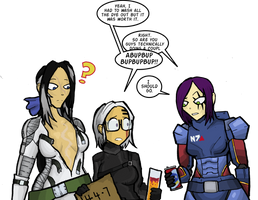 Wyches Eve party by Mr-Culexus