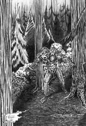 Bigfoot by willisrharrower