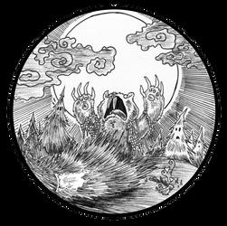 Night Of The Werebeaver (chop) by willisrharrower