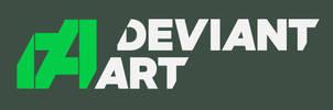 Personal vision of new DeviantArt logo by GingerJMEZ