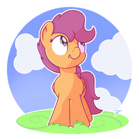 Scootaloo by Vaetan