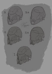 Nod Helmet Sketches by ErastusMercy