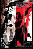 batman in black pg2 by Artist Tom Kelly by TomKellyART